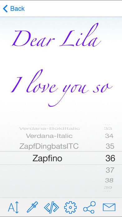 iPhont iPhone Screenshot 3