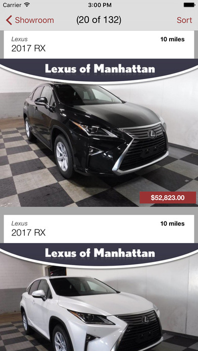 Lexus of Manhattan DealerApp iPhone Screenshot 2