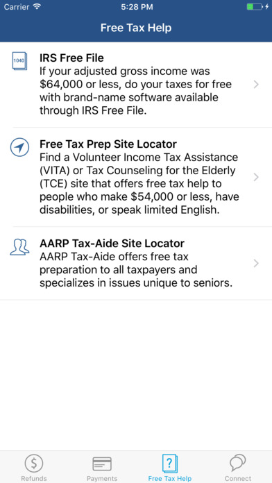 Screenshot #7 for IRS2Go