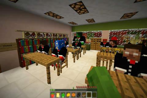 HIGH SCHOOL - GRADUATION CEREMONY: Build Mini Block Game with Multiplayer screenshot 1