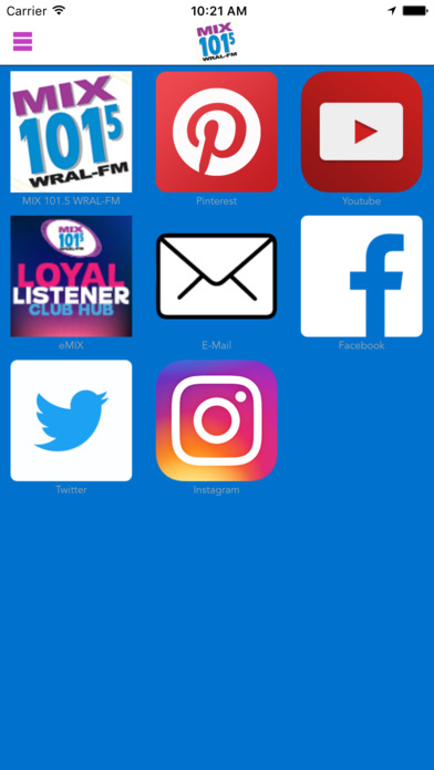 MIX 101.5 / WRAL-FM / The Best Mix While You Work iPhone Screenshot 3