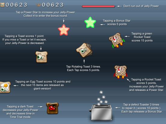 Toast Shooter HD iPad Screenshot 2