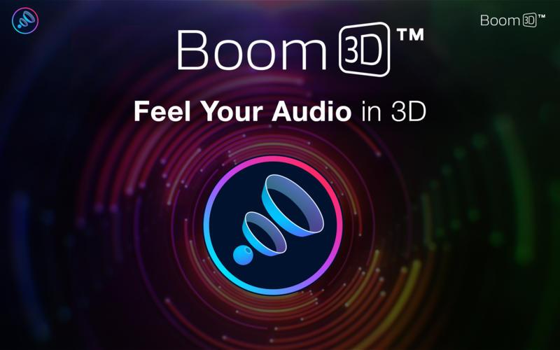 Boom 3D for Mac 1.0 激活版 - 强大的3D音效增强工具