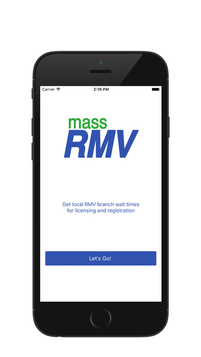 Mass RMV iPhone Screenshot 1