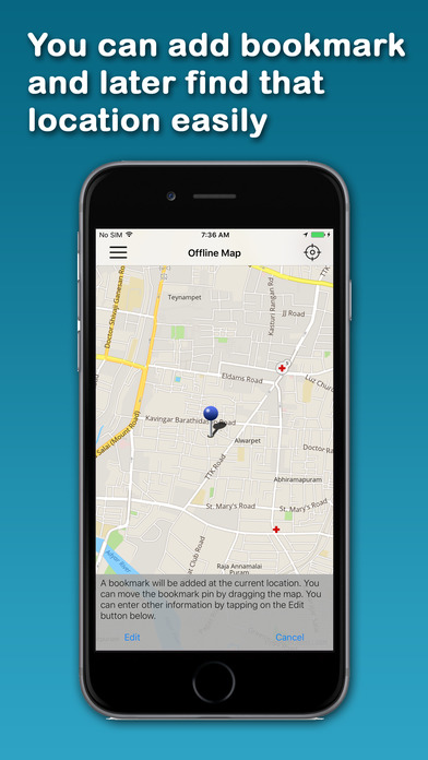 AHI's Offline Nairobi iPhone Screenshot 3