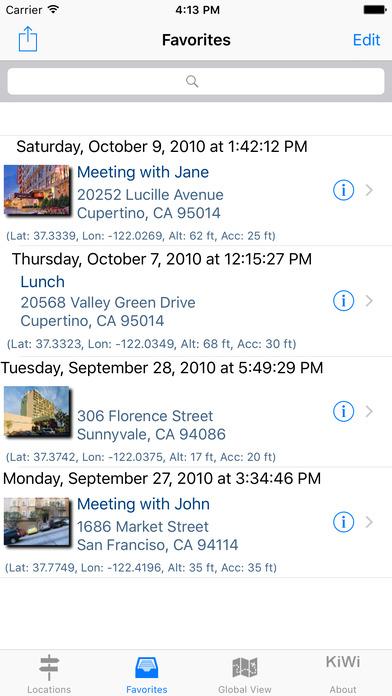 GPS mini Navigation iPhone Screenshot 3