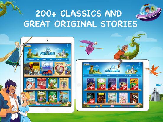 Pickatale: 200+ Interactive Children's Books! Screenshot