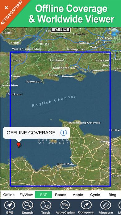 Marine: Cherbourg to Channel Islands - Solent iPhone Screenshot 5