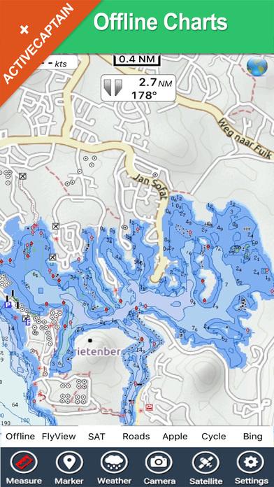 Curacao HD - Travel Map Navigator iPhone Screenshot 2