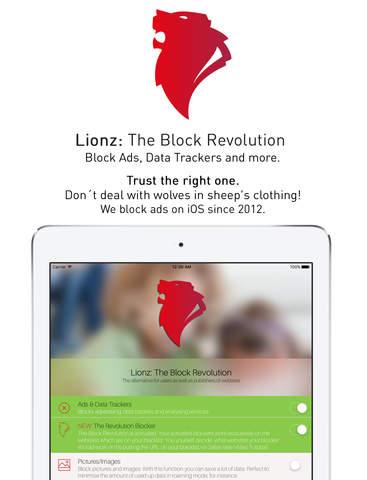 Lionz Blocker Ad Blocker For Safari Block Ads Data