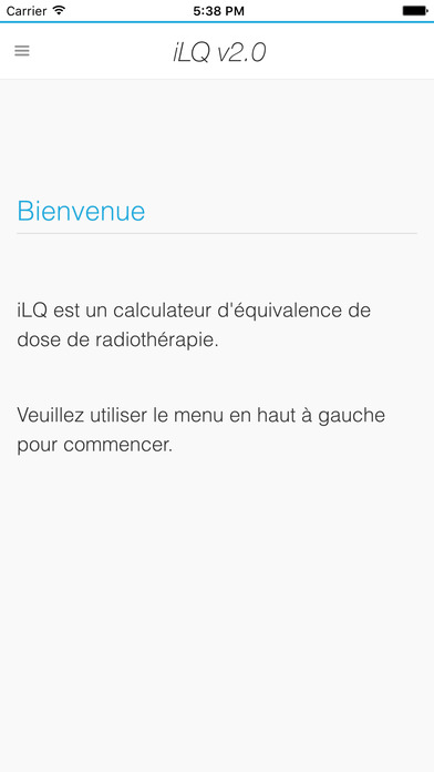 iLQ iPhone Screenshot 1