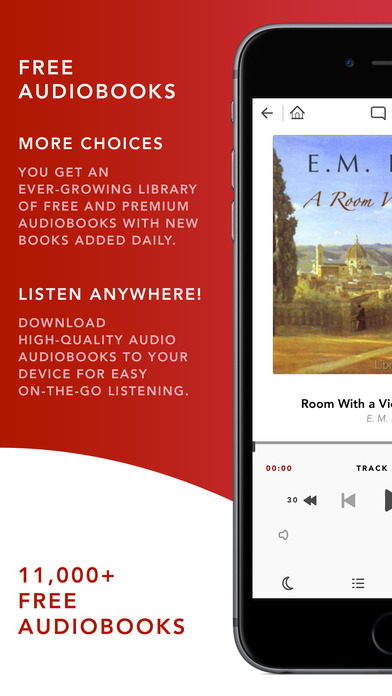 Audiobooks HQ – 11,000+ FREE + Premium Audio Books Screenshot