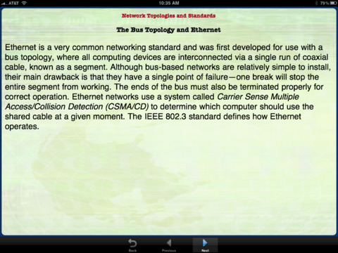 CompTIA Network+ Mike Meyers' Certification Passport iPad Screenshot 3