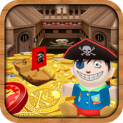 Kingdom Coins Pirate Booty Edition - Dozer of Coins Arcade Game