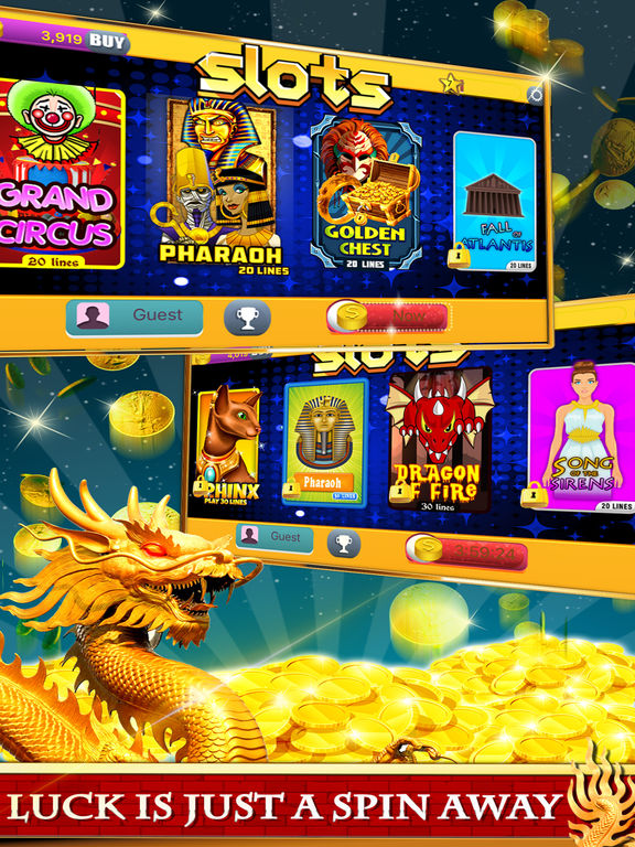 Free Las Vegas Casino Slots Machine Games - Spin for New Party-ipad-0