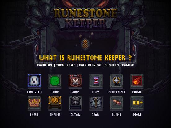 Runestone Keeper. Скрин 1