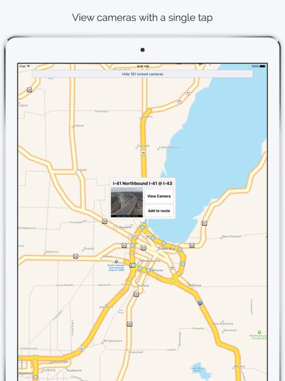 RoadCam - Traffic Camera Viewer & Live Traffic screenshot