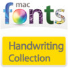 10 款手写型字体 MacFonts-HandwritingFonts For Mac