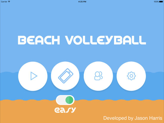 Multiplayer Volleyball Screenshot
