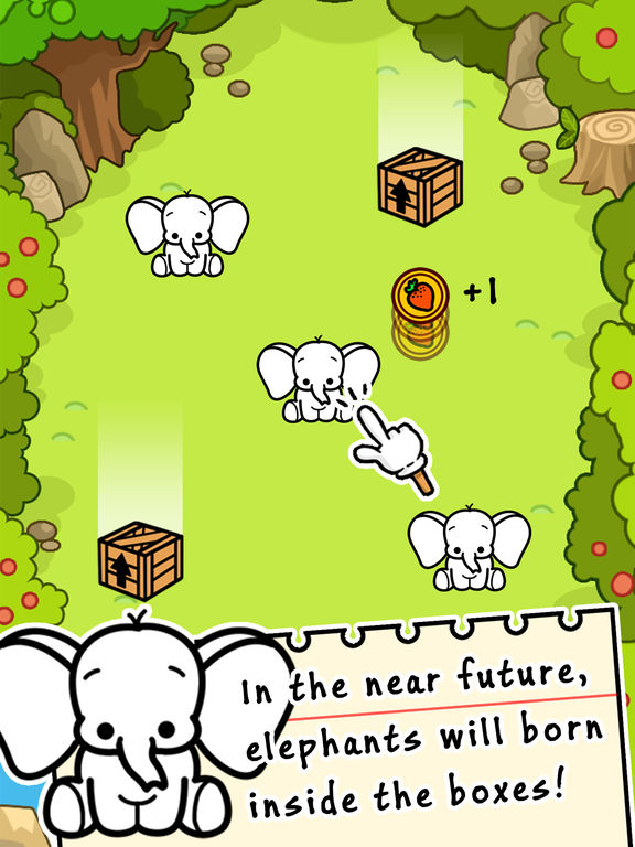 Elephant Evolution - Tap Coins of the Crazy Mutant Simulator Idle Game-ipad-0