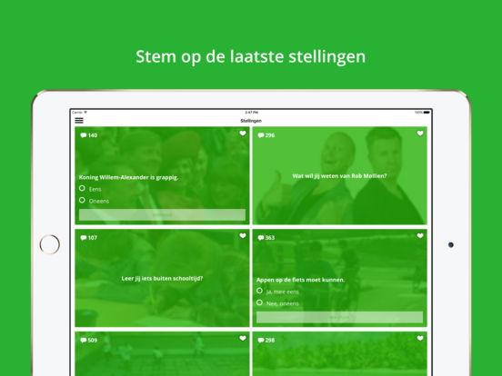 NOS Jeugdjournaal iPad Screenshot 3