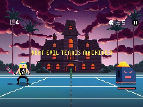 Heavy Metal Tennis Training screenshot 8