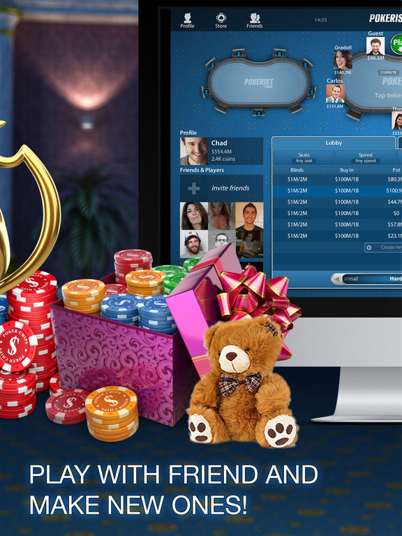 Pokerist: The Best Texas Holdem Poker For Free screenshot