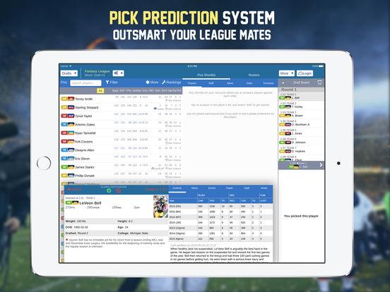 Footballguys Fantasy Football Draft Dominator 2016 screenshot 9