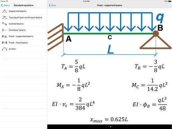 Statics (Civil Engineering) iPad Screenshot 4