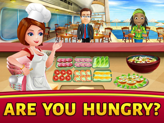 Cruise Ship Cooking Scramble: Master Chef Fever на iPad