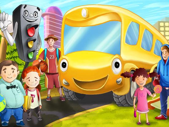 История про Автобус Бесплатно - игры для детей