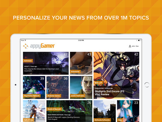 Appy Gamer – Games news screenshot