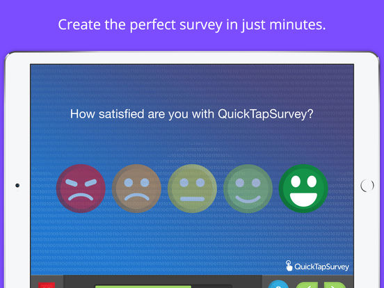 QuickTapSurvey iPad Screenshot 1