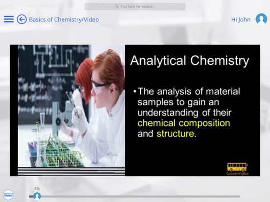 Chemistry for iPad iPad Screenshot 1