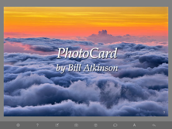PhotoCard by Bill Atkinson screenshot