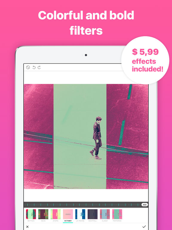 Ultrapop Pro  - Collection of Artistic Color Filters and Shapes for Contemporary Art Photo Edits Screenshots