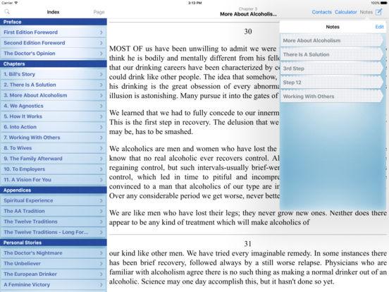 12 Steps AA Companion - Alcoholics Anonymous iPad Screenshot 3