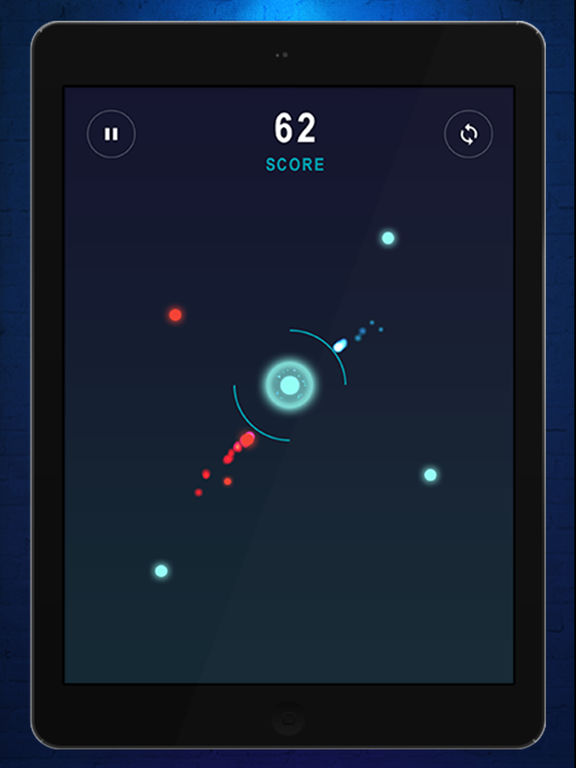 World driving color dots runner as the atom Screenshots