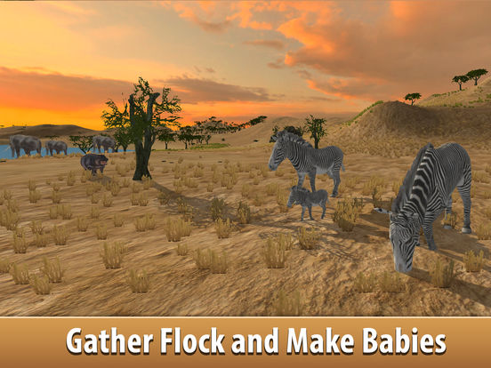 Zebra Simulator 3D Full - African Horse Survival Screenshots
