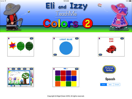 TeachMe Colors 2 (for children aged 3-5yrs) iPad Screenshot 1