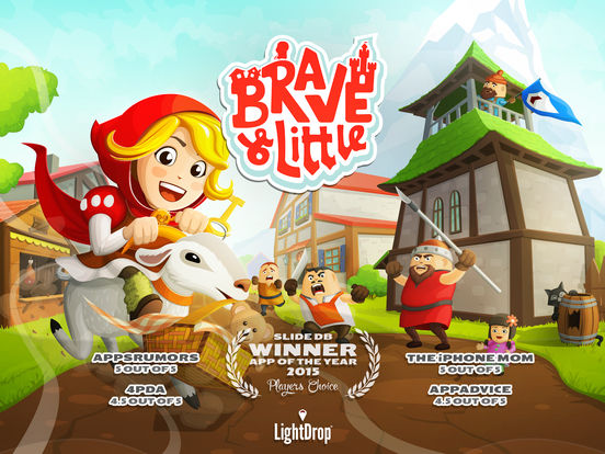 Brave & Little Приключение Screenshot
