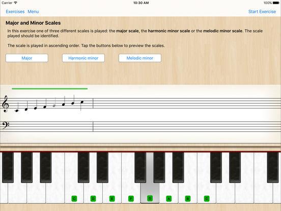 Ear Trainer Lite iPad Screenshot 1