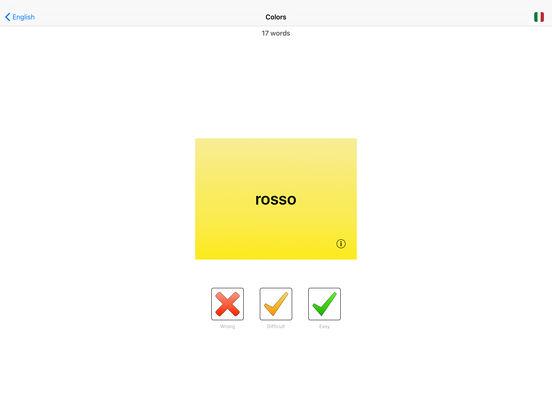 You Have Words Italian iPad Screenshot 2