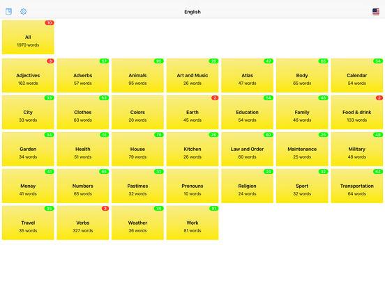 You Have Words Italian iPad Screenshot 1