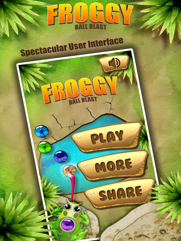 Froggy Ball Blast-ballsshooter screenshot 6