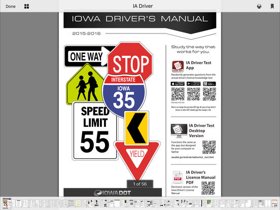 DMV Test Prep - Iowa iPad Screenshot 5