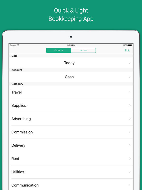 Taxnote - Simple Accounting & Bookkeeping App screenshot