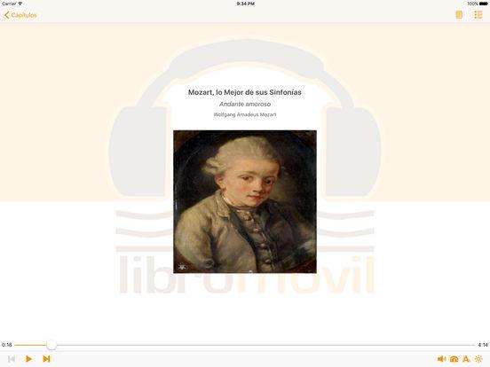 Mozart lo Mejor de sus Sinfonías - AudioEbook iPad Screenshot 1
