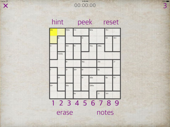 Sudoku Math iPad Screenshot 5