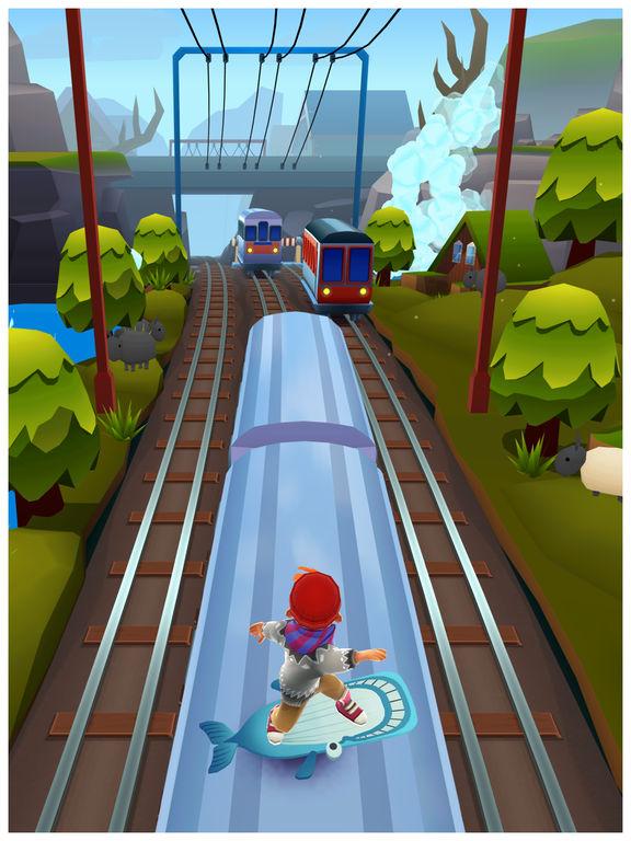 Screenshots of Subway Surfers for iPad